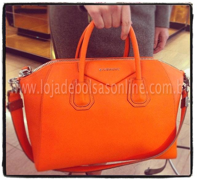 replica de bolsa laranja